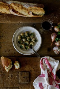 Escargots à la Bourguignonne