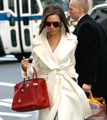 February 11, 2008: Victoria Beckham heads into Bergdorf Goodman, a luxury goods department store in New York City, for some early morning shopping. Credit: Adao/Mauceri/INFphoto.com Ref: infusny-39/52