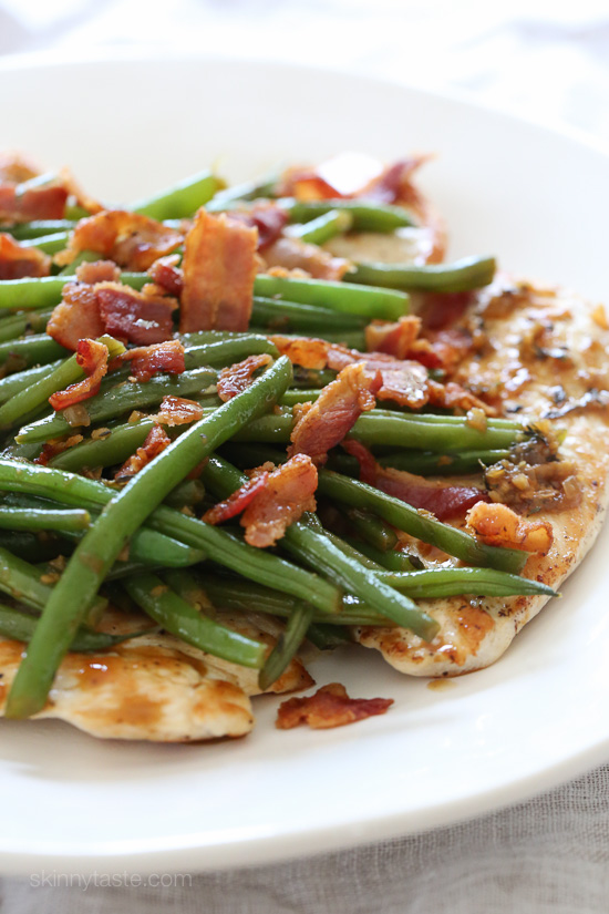 skillet-chicken-with-string-beans