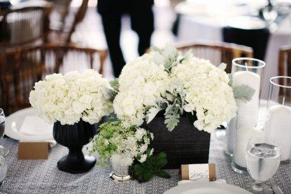 white-hydrangea-wedding-centerpiece